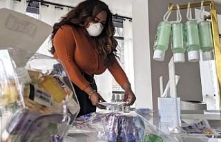 İlk koronavirüs mağazası Washington'da açıldı