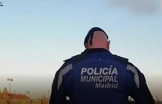 İspanya polisinden drone ile 'evinde kal'...