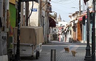 İşte Lefkoşa sokakları...