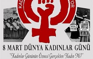 KTAMS, Dünya Emekçi Kadınlar Günü'ne yönelik...