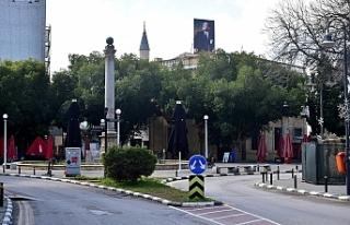 Lefkoşa'nın en işlek caddelerinde alışılmadık...