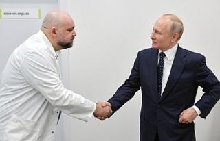 Putin'in geçen hafta görüştüğü doktorda...