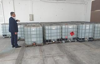 20 ton etil alkol Sağlık Bakanlığına teslim edildi