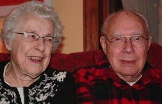 73 yıllık evli çifti corona bile ayıramadı! 6...