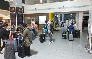 Alman turistler ülkeden ayrılıyor