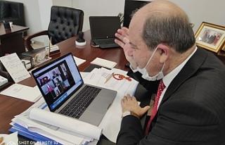 Başbakan Ersin Tatar 6 ilçeden çocuklarla sosyal...