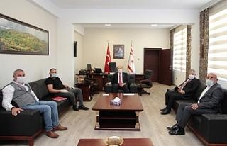 Başbakan Tatar Dipkarpaz Belediye Başkanı ile Yeni...