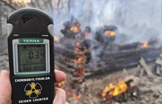 Çernobil'de yangın çıktı, bölgedeki radyasyon...