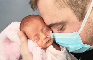 Corona virüse yakalanan prematüre bebek iyileşti