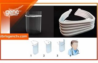 DAÜ pratik ve ergonomik tıbbi kalkanın seri üretimine...