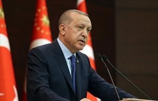 """Erdoğan: """"Para ile maske satışı yasaktır"""""""