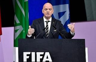 FIFA Başkanı Infantino: Hiçbir maç insan hayatından...