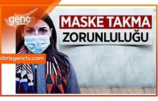 Girne Belediye hudutlarında maske takma zorunluluğu...