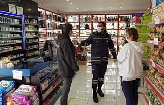 Girne Belediyesi, işyeri denetimlerine devam ediyor