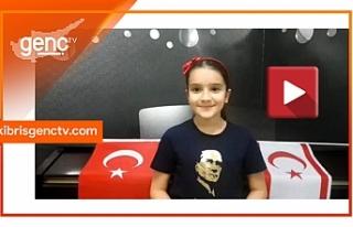 """Kıbrıslı Türk çocuklardan """"Teşekkürler..."""