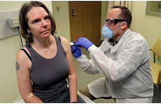 Korona virüs aşısının denendiği ilk kişi konuştu