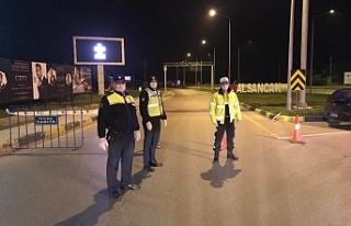 Lapta ve Alsancak'a giriş çıkışlar polis kontrolünde