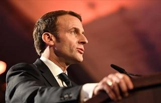 """Macron: """"Çin'de Kovid-19'la ilgili..."""