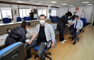 Meclis çalışanı ve Milletvekillerine test yapıldı