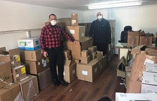 Otelciler Birliği, 5 adet ventilatör bağışladı