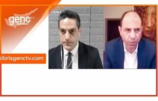 Özersay'dan Kıbrıs Genç Tv'de önemli...