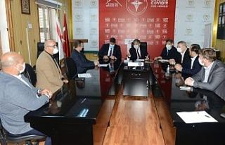 Pilli, Ekonomik Örgütler Platformu ile görüştü