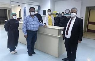 Sağlık Bakanı Pilli, Lefkoşa Devlet Hastanesini...