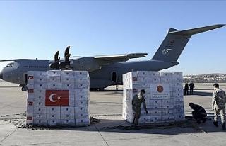 Türkiye'den İngiltere'ye tıbbi yardım...