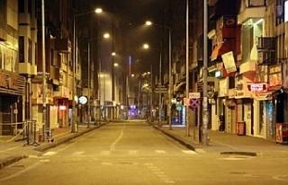 Türkiye'de 31 ildeki sokağa çıkma kısıtlaması...