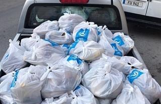 Ülkü Ocakları'ndan 1000 aileye yardım