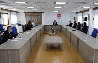 Uluçay, Komite Başkanları ile biraraya geldi