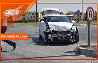 1 haftada 19 trafik çarpışması 8 yaralı