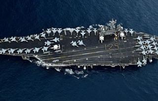 ABD uçak gemisinde koronavirüs vaka sayısı artıyor