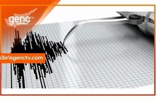 Akdeniz açıklarında 6,4 büyüklüğünde deprem