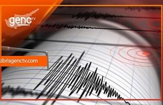 Akdeniz'de 4 ve 4,9 büyüklüğünde iki deprem