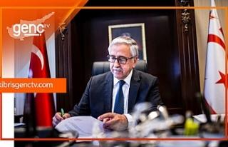"""Akıncı: """"Kıbrıs Genç Tv'nin Kıbrıs Türk..."""