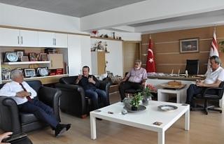 Ataoğlu'ndan Özçınar'a ziyaret