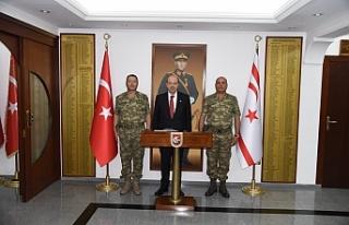 Başbakan Tatar'dan Tuğgeneral Altan Er'e...