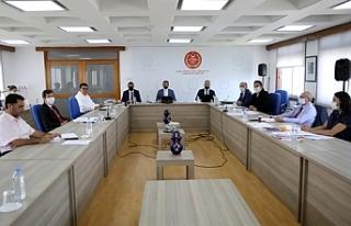 Borç ilişkileri ad hoc komitesi toplandı