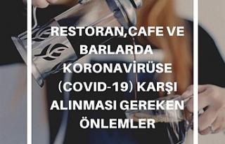 Çalışma Bakanlığı restoran,cafe,barlarda koronavirüse...