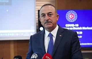 """Çavuşoğlu: """"103 ülkeden 65 binden fazla vatandaşımızı..."""