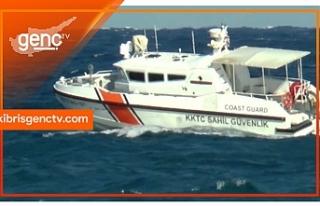 Dalgalara kapılan iki genç Sahil Güvenlik ekipleri...