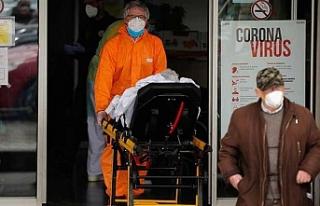 Dünya genelinde tedavisi süren Kovid-19 hasta sayısı...