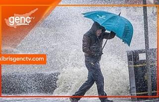 En fazla yağmur metrekareye 63 kg ile İskele'de