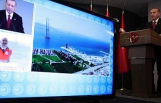 """Erdoğan: """"Çanakkale Boğazı'na köprü..."""