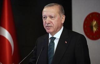 """Erdoğan: """"İslam aleminin ve milletimizin mübarek..."""