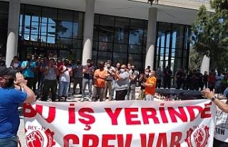 Girne Belediyesi'nde grev