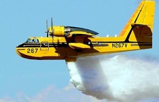 Güneye 2 yeni yangın söndürme uçağı