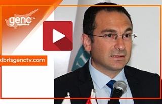 Müsteşar, Kıbrıs Genç Tv yayınında limanlardan...