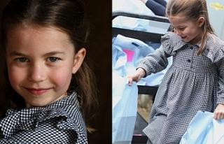 Prenses Charlotte kapı kapı dolaşıp yiyecek dağıttı
